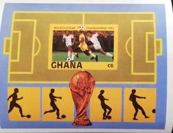 """Ghana 1982  World Cup Espana """"82   S/S Imperf. - Ghana (1957-...)"""