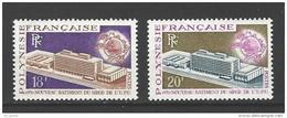 """Polynésie YT 80 & 81 """" Bâtiment UPU """" 1970 Neuf** - Französisch-Polynesien"""