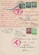 LUXEMBOURG   2 Cartes Entiers Postaux  Cachet :differdange Et Dudelange - Entiers Postaux