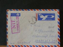 79/538 ENVELOPPE   POLOGNE  POUR G.B. 1991 - 1944-.... Republic