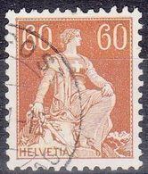 """Schweiz Suisse 1940: """"Helvetia """"Zu+Mi 140y (glattes Kreide-Papier Lisse Crayeux) Mit O FELDPOST  (Zu CHF 80.00 + 40.00) - Suisse"""