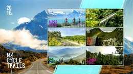 Nouvelle Zélande Pistes Cyclables Cyclisme Bike Vélo Mountains Montagnes - Ciclismo