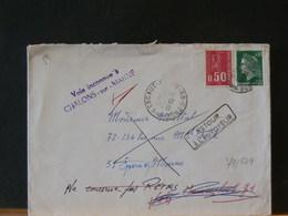 79/539 LETTRE  FRANCE   1974 RETOUR - France