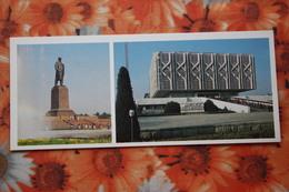 Uzbekistan. Tashkent. Lenin Monument 1983 - Old USSR Postcard - Uzbekistan