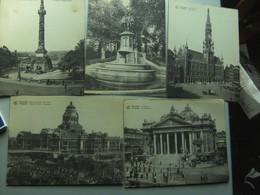 België Belgique Brussel Bruxelles  Lot Van 10 Ansichtkaarten 18 X 13,5 Cm 10 Cartea Posatales - Postkaarten