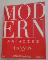 Lanvin  - Modern Princess - Eau De Parfum  - 2 Ml échantillon Neuf/rempli - Perfume Samples (testers)