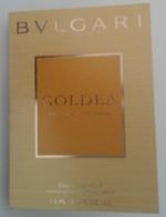 Bulgari - Goldea - Eau De Parfum  - 1,5 Ml échantillon Neuf/rempli - Perfume Samples (testers)
