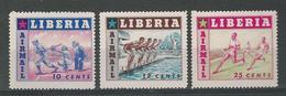 180030645  LIBERIA  YVERT  AEREO  Nº  86/8  **/MNH - Liberia