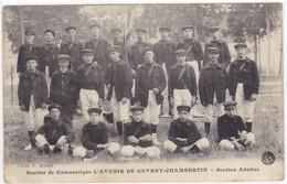 Côte-d'Or - Société De Gymnastique L'Avenir De Gevrey-Chambertin - Section Adulte - Gevrey Chambertin