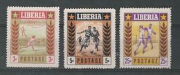 180030644  LIBERIA  YVERT  Nº  325/7   **/MNH - Liberia