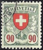 Schweiz Suisse 1940: Zu 163y Mi 196y Yv 208 (Kreide-Papier Lisse Crayeux) Mit Eck-o (Zumstein CHF 80.00) - Suisse