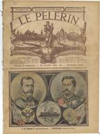 Russie Tsar Nicolas II Japon Japan Le Pélerin N° 1416 De 1904 - Journaux - Quotidiens