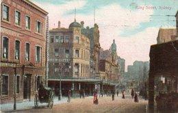 88Sv   Australie Sydney King Street (rare View) - Sydney