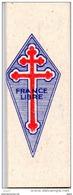 Militaria, Papier, Papiers à Cigarettes ( FFF ), France Libre, Imprimé En Angleterre   3 Scans - Around Cigarettes