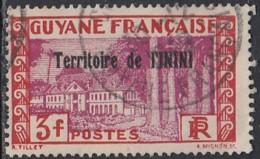 Inini (Territoire De L') - N° 25 (YT) N° 16 (AM) Oblitéré. - Inini (1932-1947)