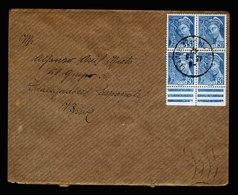 A5622) Frankreich France Brief 1942 M. 4er-Block 50 C - Frankreich