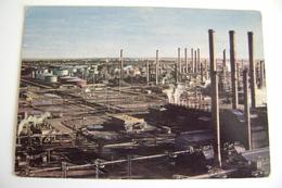 IRAN ABADAN Oil Refinery Petroleum   ASIA    VIAGGIATA  COME DA FOTO - Iran