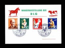 A5624) Bund Sonderkarte Frankfurt 07.05.59 Mit Mi.297-300 - Briefe U. Dokumente