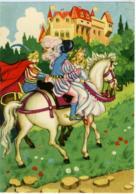 BIANCANEVE SCHNEEWITTCHEN  Flli Green  Salvata Dal Principe Che La Chiede In Sposa Va A Cavallo Nel Castello Del Re - Fiabe, Racconti Popolari & Leggende