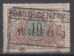 D8266 - Belgium Railway Mi.Nr. 28 O/used, Gand - Central - 1895-1913