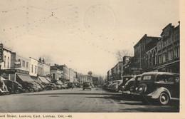 Kent Street Looking East, Lindsay, Ontario Antique Cars - Ontario