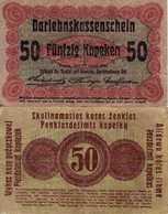 WWI (Germany - Occupation Lithuania) 50 KOPEKEN (1916) Pick R121c TB+ - [ 9] Duitse Bezette Gebieden