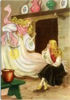 CENERENTOLA CINDERELLA CENDRILLON ASCHENPUTTEL  La Fatina La Conforta E Le Promette Che Andrà Al Ballo - Fairy Tales, Popular Stories & Legends