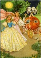 CENERENTOLA CINDERELLA CENDRILLON ASCHENPUTTEL  La Fatina La Trasforma In Una Gran Dama E La Zucca In Carrozza - Fairy Tales, Popular Stories & Legends