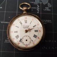 Doupagne Montre A Gousset 10 Rubis Argent 0.800 - Relojes Ancianos