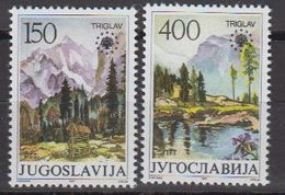 Yugoslavia 1987 European Nature 2v ** Mnh (40593G) - 1945-1992 Socialistische Federale Republiek Joegoslavië