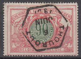 D8289 - Belgium Railway Mi.Nr. 38 O/used, Thourout - 1895-1913