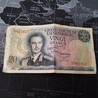 20 Francs Grand-Duché De Luxembourg 7 Mars 1966 - Luxembourg