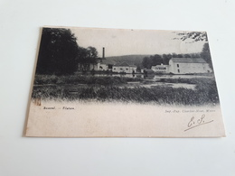 BOUSVAL - Filature Imp Pap Charlier-Niset Wavre Oblitéré En 1906 - Genappe