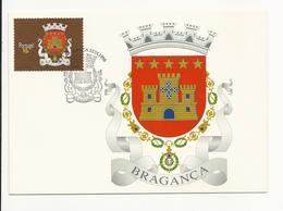Maximum Card * Portugal * 1996 * Brasões Dos Distritos De Portugal * Bragança - Maximum Cards & Covers