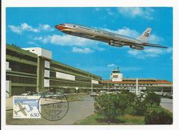 Maximum Card * Portugal * 1980 * Lisboa * Aeroporto - Maximum Cards & Covers