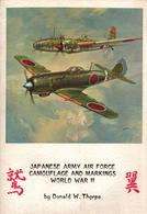 JAPANESE ARMY AIR FORCE CAMOUFLAGE MARKINGS WWII AVIATION JAPON ARMEE AIR - Aviation