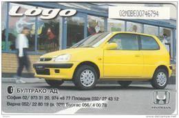 BULGARIA(chip) - Honda Logo, Mobika Telecard 60 Units, Tirage 12000, 06/99, Used - Bulgaria