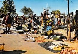 Afrique > Marché Africain (A)Carte écrite Depuis Bangui République Centrafricaine (Editions : N°7037 )*PRIX  FIXE - Non Classés