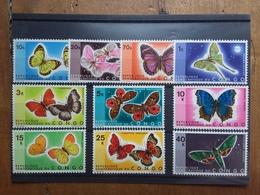 CONGO INDIPENDENTE - Farfalle 1971 - Serie Completa Nuova ** + Spese Postali - Congo - Brazzaville
