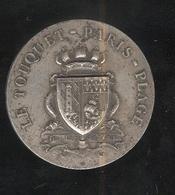 Jeton Le Touquet Paris-Plage - Médaille D'Honneur De La Ville - Professionals / Firms