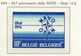 PIA - BELG - 1974 : 25° Anniversario Della NATO -  (Yv  1706) - Nuevos