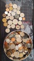 Lot Pièces De Monnaies (Belges, Francaise, Hollandaise, Irlandaise, Espagol, Ect) 1,2 Kg - Monnaies