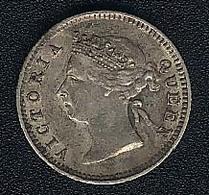 Hongkong, 5 Cents 1898, Silber - Hong Kong