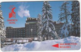 BULGARIA(GPT) - Hotel Samokov, CN : 11BULA, Tirage 2000, 03/93, Used - Bulgaria