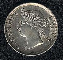 Hongkong, 5 Cents 1894, Silber - Hong Kong
