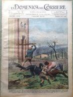 La Domenica Del Corriere 7 Aprile 1929 Funerali Foch Zeppelin Tanganica Riposto - Libri, Riviste, Fumetti