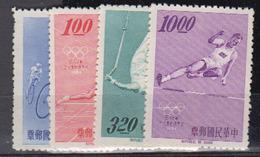 TAIWAN        1964                 N /   488  / 491                    COTE     19 , 00   EUROS    ( Q 50 ) - Ungebraucht