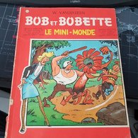 Willy VANDERSTEEN Bob Et Bobette 75 Le Mini-Monde 1967 - Bob Et Bobette