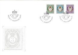 Norwegen 1380/82 FDC Sonderstempel - FDC