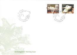 Norwegen 1409/10 FDC Sonderstempel - FDC